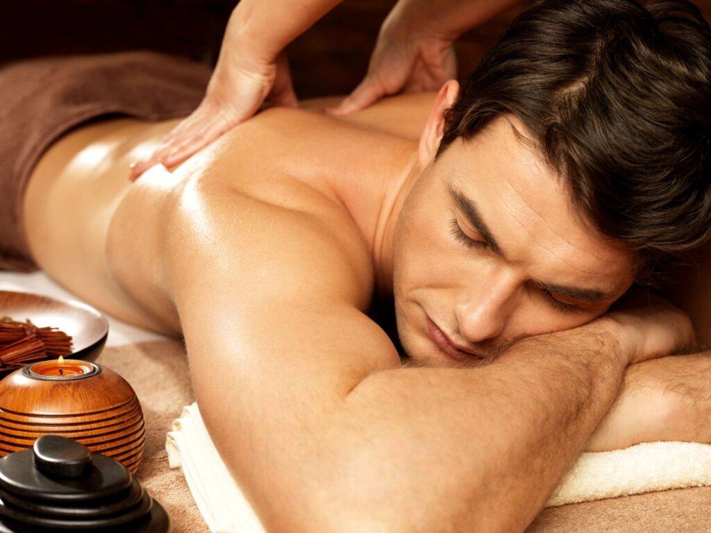 De-stress with massage